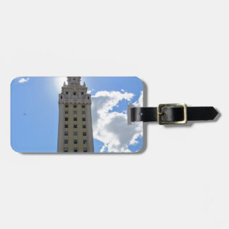 Cuban Freedom Tower in Miami 4 Bag Tag