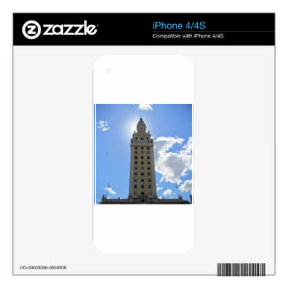 Cuban Freedom Tower in Miami 4 iPhone 4S Decal