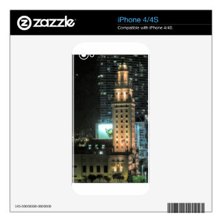 Cuban Freedom Tower in Miami 7 Skins For The iPhone 4S