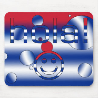 Cuban Gifts : Hello / Hola + Smiley Face Mouse Pad