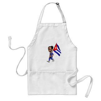 Cuban Girl Adult Apron