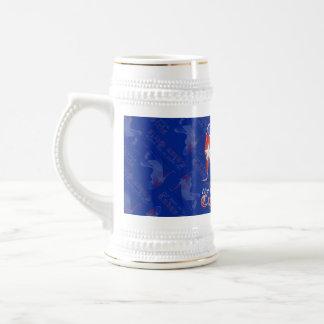 Cuban Girl Silhouette Flag Coffee Mugs