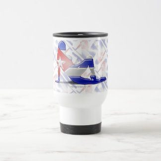 Cuban Girl Silhouette Flag Coffee Mug