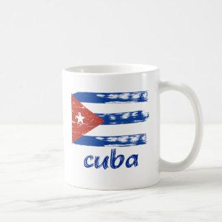 Cuban grunge flag coffee mug