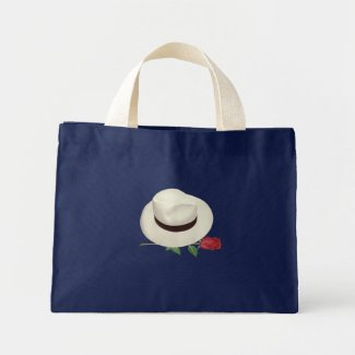 Cuban Hat Mini Tote Bag