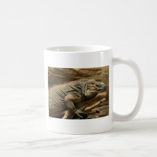 Cuban Iguana Classic White Coffee Mug