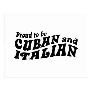 Cuban Italian Postcard