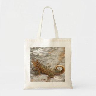Cuban Lizard Tote Bag
