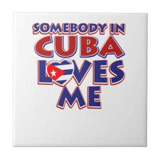 Cuban Love Tile