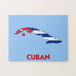 CUBAN MAP JIGSAW PUZZLE