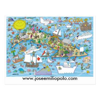Cuban postcard, www.joseemiliopolo.com