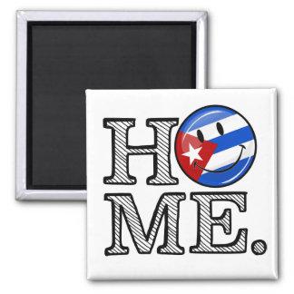 Cuban Pride Smiling Flag House Warmer Magnet