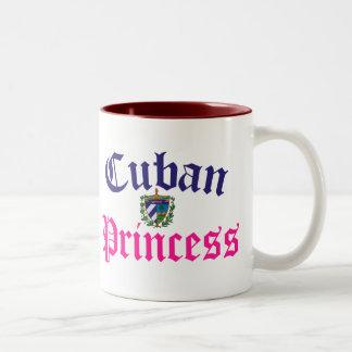Cuban Princess 2 Two-Tone Coffee Mug