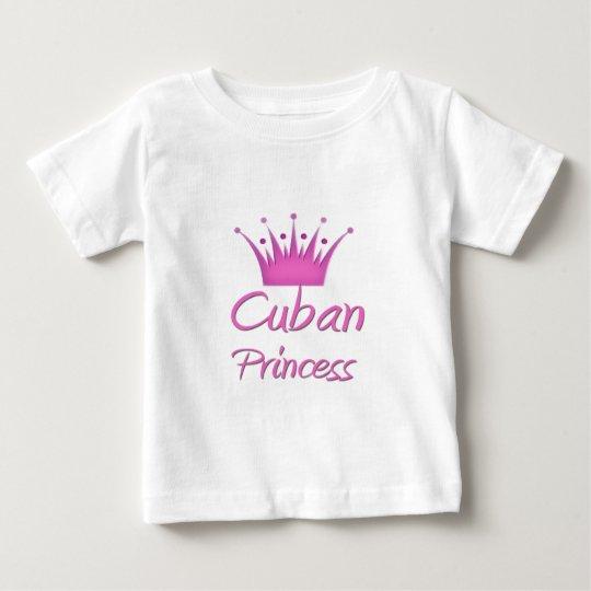 Cuban Princess Baby T-Shirt