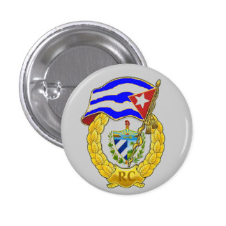 Cuban Revolutionary Armed Forces Button