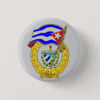 Cuban Revolutionary Armed Forces Pinback Button