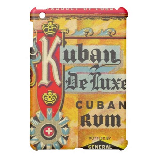 Cuban Rum Speck Case iPad Mini Cover