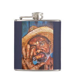 Cuban Sigar Hip Flask