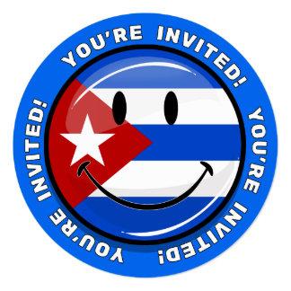 Cuban Smiley Invite