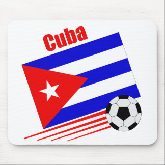 Cuban Soccer Team Mouse Pad