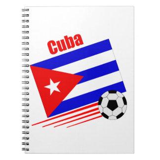 Cuban Soccer Team Notebook