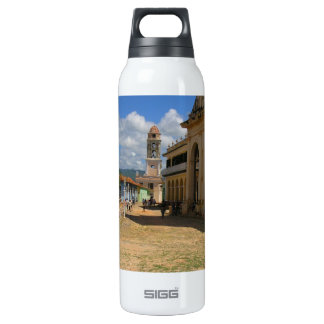 Cuban town thermos bottle