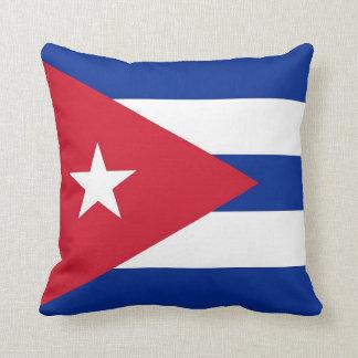 Cubanese Flag on American MoJo Pillow