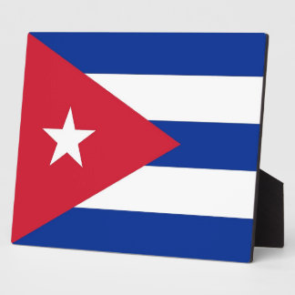 Cubanese Flag Plaque