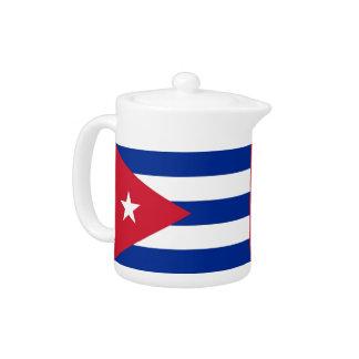 Cubanese Flag Teapot