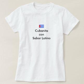 Cubanita con sabor latino T-Shirt