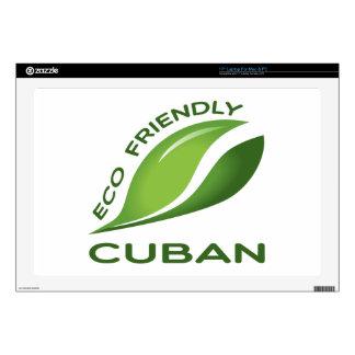 Cubano amistoso de Eco Calcomanía Para 43,2cm Portátil