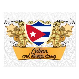 Cubano con clase postal