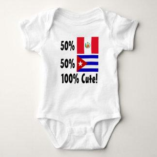 Cubano de los Peruvian el 50% del 50% el 100% Playeras