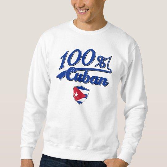 Cubano del 100% sudadera