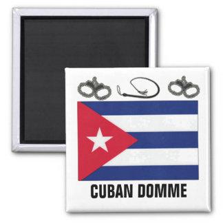 CUBANO DOMME IMÁN CUADRADO