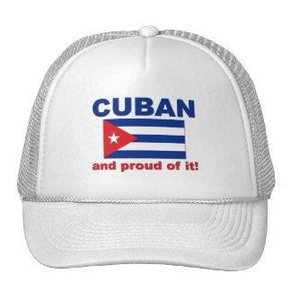 Cubano orgulloso gorro de camionero