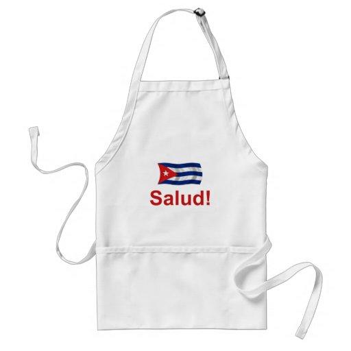 ¡Cubano Salud! Delantal