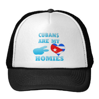 Cubans are my Homies Mesh Hat