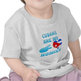 Cubans are my Homies Tee Shirts