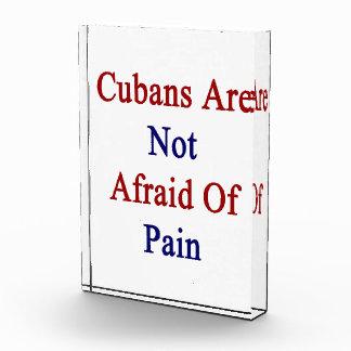 Cubans Are Not Afraid Of Pain Award