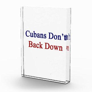 Cubans Don t Back Down Award
