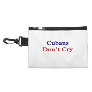 Cubans Don't Cry Accessory Bags