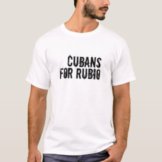 Cubans For Rubio T-Shirt