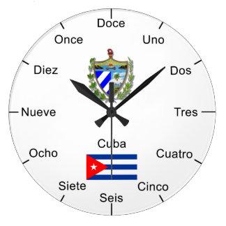 Cubans Wall Clock