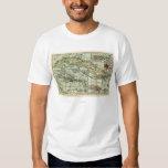CubaPanoramic MapCuba T-Shirt