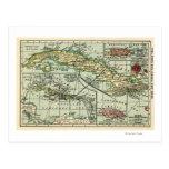 CubaPanoramic MapCuba Tarjetas Postales