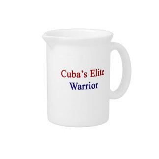 Cuba's Elite Warrior Beverage Pitchers