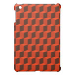 Cube 3 Dimensional 3D Pattern Design Cover For The iPad Mini