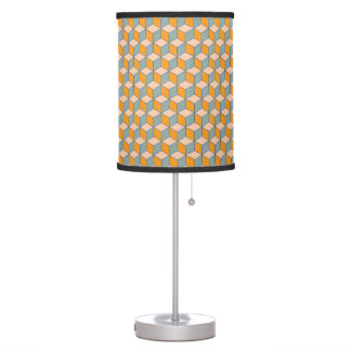 Cube Abstract Pattern Table Lamp