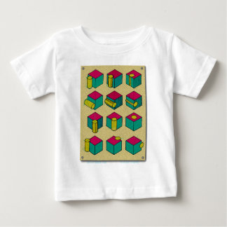Cube and Cylinder Study Baby T-Shirt